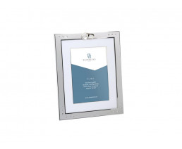 Photo frame Double rings 13x18 cm, silver plated lacquered