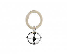 Rattle Ball Pearl on ring (925 silver)